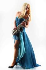 Saxophonistin