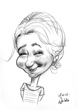 Schnellzeichner Karikaturist