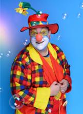 Bild für clown kindergeburtstag